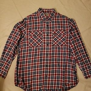 Duluth Trading Co. Men's Flannel Long Sleeve Shirt